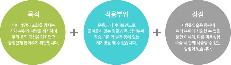 지방흡입술의 특징