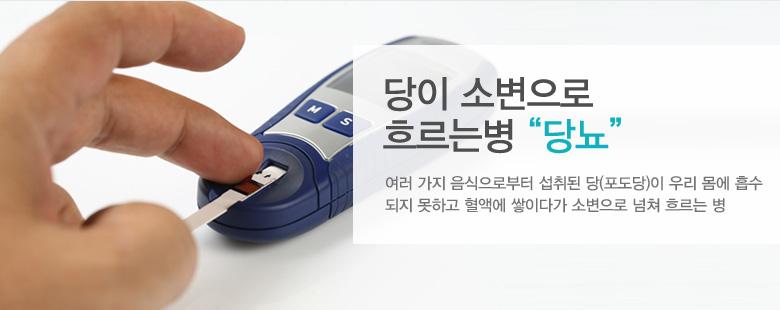 """당이 소변으로 흐르는병 """"당뇨"""""""