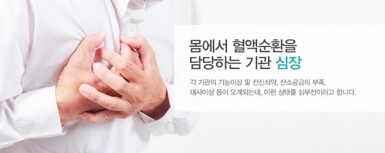 몸에서 혈액순환을 담당하는 기관 심장